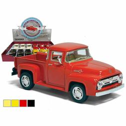 "New Kinsmart Diecast Cars 5"" 1956 FORD F100 PICKUP *CHOOSE A"