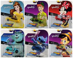 New Disney Hot Wheels Character Cars - Series 2 - Pinocchio