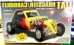 New Lindberg Fiat Dragster/Cabriolet Model Kit 1/12 Scale 12