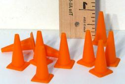 NEW H&R Safety Cones for Track Scenery  1:24 Slot Car FREE U