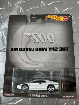 New Hot Wheels Lotus Esprit S1 007 The Spy Who Loved Me Jame
