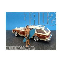 New Surfer Matthew Figure For 1:24 Diecast Model Cars by Ame