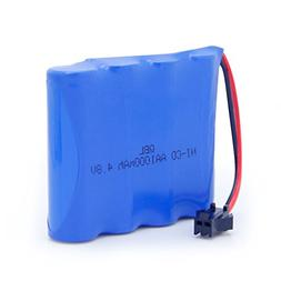 QBLPOWER 4.8V 1000mAh Ni-Cd AA Battery Pack Compatible with