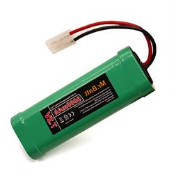 7.2V RC Battery Pack with KET Connector for RC Cars Boats Tr