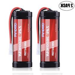 AWANFI 7.2V 3600mAh RC Battery High Capacity NiMH Battery wi