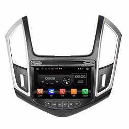 "Glyqxa Octa Core 2 din 8"" Android 8.0 Car Radio DVD GPS for"