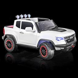 SUPERtrax Offroad 4WD Kid's Electric Ride On Car, Remote Con