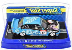"""Scalextric """"Omega"""" BMW E30 M3 DPR W/ Lights 1/32 Scale Slot"""