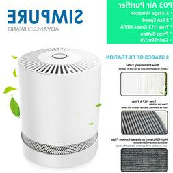 SimPure® P03 Air Purifier True H13 HEPA Filter for Home All