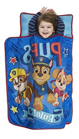 Paw Patrol We're A Team Toddler Nap Mat - Includes Pillow &