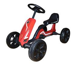 kidskarting Pedal Go Kart Kids Ride on Racing Cars for Girls