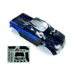 Redcat Racing Pickup Truck Body , Black/Blue