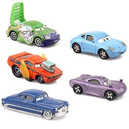 cars Pixar 2 Metal Die-Casting Vehicle 5 Pack Box