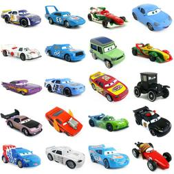 Disney Pixar Cars 2 & 3 McQueen Racing Family Diecast Toy Ca