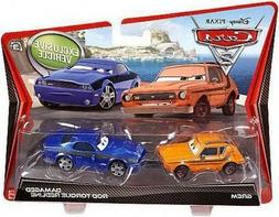 Disney Pixar Cars 2 Vehicle 2-Pack - Grem and Rod 'Torque' R