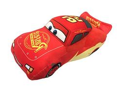 "Disney Pixar Cars Lightning McQueen Movie 17"" Red Plush Budd"