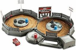 Disney/Pixar Cars Mini Racers Crank & Crash Derby Playset