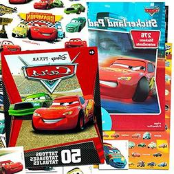 Disney/Pixar Cars Stickers & Tattoos Party Favor Pack