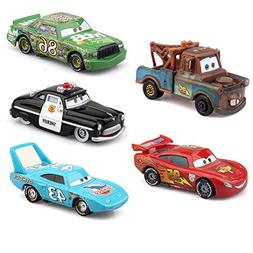 cars Pixar cars2 metal die-casting 5Pack toys with box