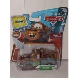 DISNEY PIXAR MOVIE CARS CHASE MATER #130 WITH MOVING EYES AN
