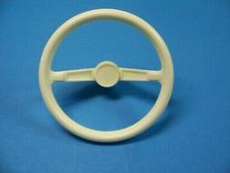 Plastic Steering Wheel for AMF Pedal Cars - Three-spoke