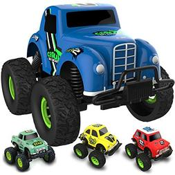 Die-Cast Metal Model Cars Toy 4x4 Off Road Assorted Monster