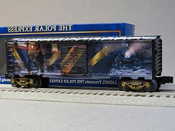 LIONEL POLAR EXPRESS TICKET BOXCAR O GAUGE train movie art 6
