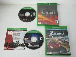 PROJECT CARS 1 & 2 DAY ONE EDITION XBOX ONE MINT