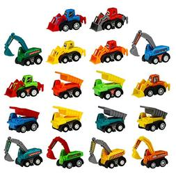 Toy Cars Pull Back Construction Vehicles Party favors Cake D