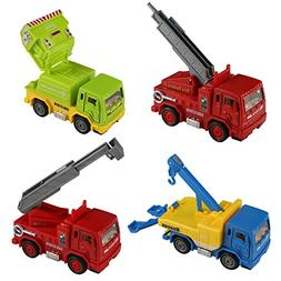 yoptote Pull-Back Vehicles Alloy Car Toys Diecast Cars Const
