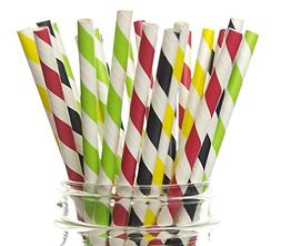 Race Car Straws, Racing Cars Party Supplies  - Indy 500 Race