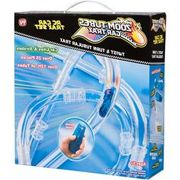 ZOOM TUBES CAR TRAX, 25-Pc RC Car Trax Set with 1 Blue Racer