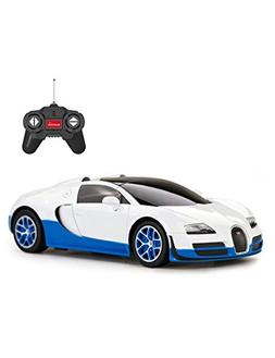 Rastar Remote Control Car, 1:24 Bugatti Veyron 16.4 Grand Sp