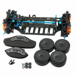 RC 1/10 4WD Plastic & Carbon Touring Car Frame Kit For TT01