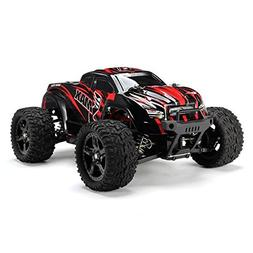 RC Car - REMO 1631 1/16 2.4G 4WD Brushed Off-Road Monster Tr