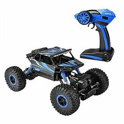 Hapinic RC Car with Two Battery 4WD 2.4Ghz 1/18 Crawlers Off