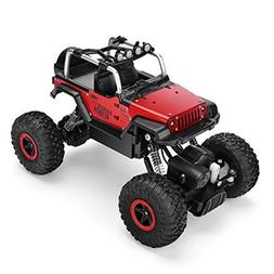 AHAHOO RC Cars 1/18 Remote Control Off-Road Vehicle 2.4GHz 4