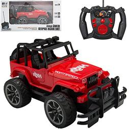 RC Remote Control OFF ROAD JEEP Wrangler Full Function Car