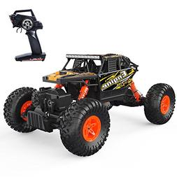 DEERC Remote Control Car 4WD Off Road RC Cars 1/18 Scale Mon