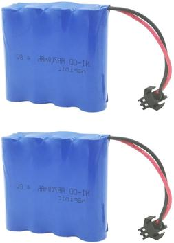 Remote Control Car Off-Road 2PCS 4.8V 700mAh RC Car Recharge