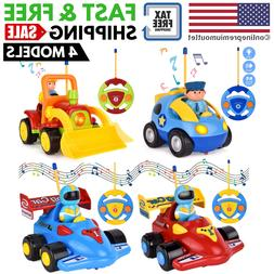 Remote Control Cars for Kids Girls Boys Baby Toddler RC Toy