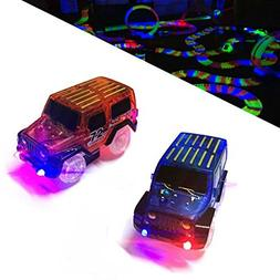 EXTRA CARS - Replacement light up Cars for Magic Tracks  - G