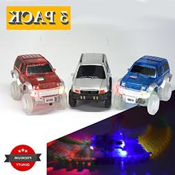 Light Up Replacement Track Race Car Toy | Racing Jeeps  with