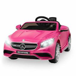 Kids Ride On Car Mercedes Convertible W/ Parent Control Elec