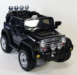 Ride on car NEW JEEP Wrangler style. BATTERY 12v total. With