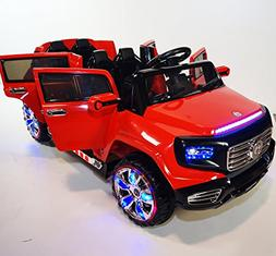 Ride on car Heavy style power wheels 4 doors car 2 SEATER Dr
