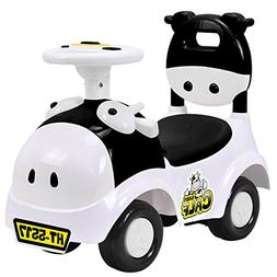 Costzon Kids Ride On Push Car, 3 in 1 Sliding Car Pushing Ca