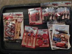 Disney's Cars Birthday Party Grab Pack Various Items for you