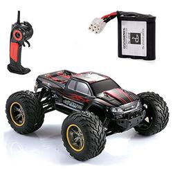 GPTOYS S911 RC Truck 33MPH 2.4GHz 2WD Off Road Waterproof Mo