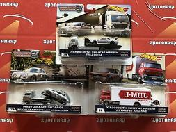 Set of 3 2019 Hot Wheels Car Culture Team Transport Mix E Ni